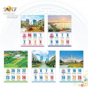 HT-20: Bloc treo tường 52 tuần - Phong Cảnh
